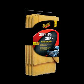 SUPREME SHINE MICROFIB ER TOWEL(3 PACK)