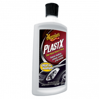 PLAST-X CLEAR PLASTIC CLEANER