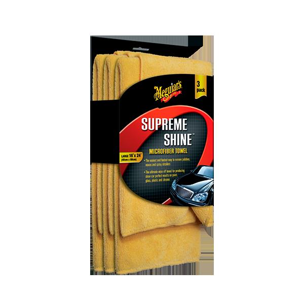 SUPREME SHINE MICROFIB ER TOWEL(3 PACK) 1