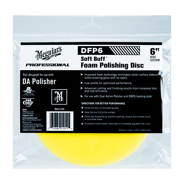 DMF6 DA MICROFIBER FINISHING PAD 6″ 1
