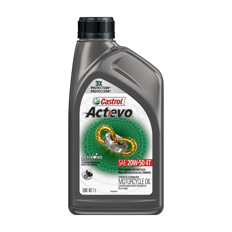 CASTROL ACTEVO 4T 20W-50 1