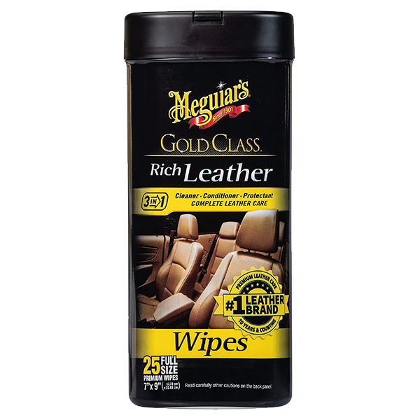 GOLD CLASS RICH LEATHER WIPES 1
