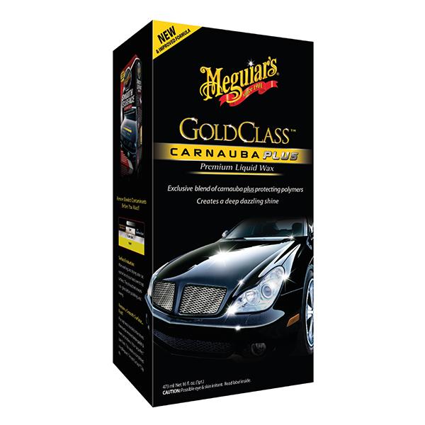 GOLD CLASS LIQUID CAR WAX -SPANISH LABEL 1